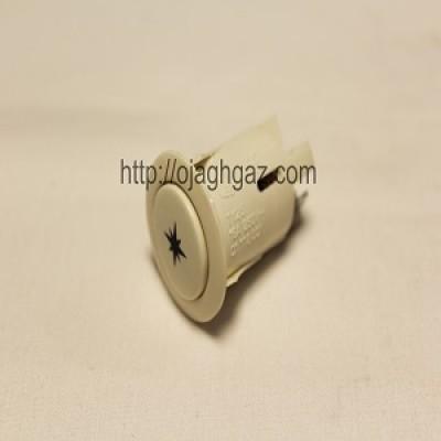 کلید جوجه گردان سفید  |  دکمه لامپ  | کلید فندک