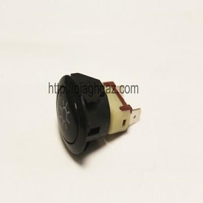کلید لامپ بیضی مشکی |دکمه لامپ جوجه گردان بیضی |  دکمه لامپ