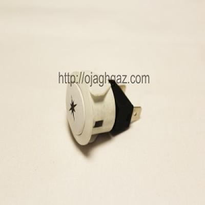 کلید جرقه زن بیضی سفید| دکمه جرقه زن  بیضی |  دکمه لامپ