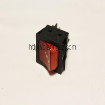 کلید جرقه زن کروز مشکی و قرمز  |دکمه جرقه زن مربع